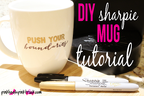 Diy sharpie mug tutorial taylor bradford ever wondered how to create your own sharpie mug im showing you solutioingenieria Choice Image