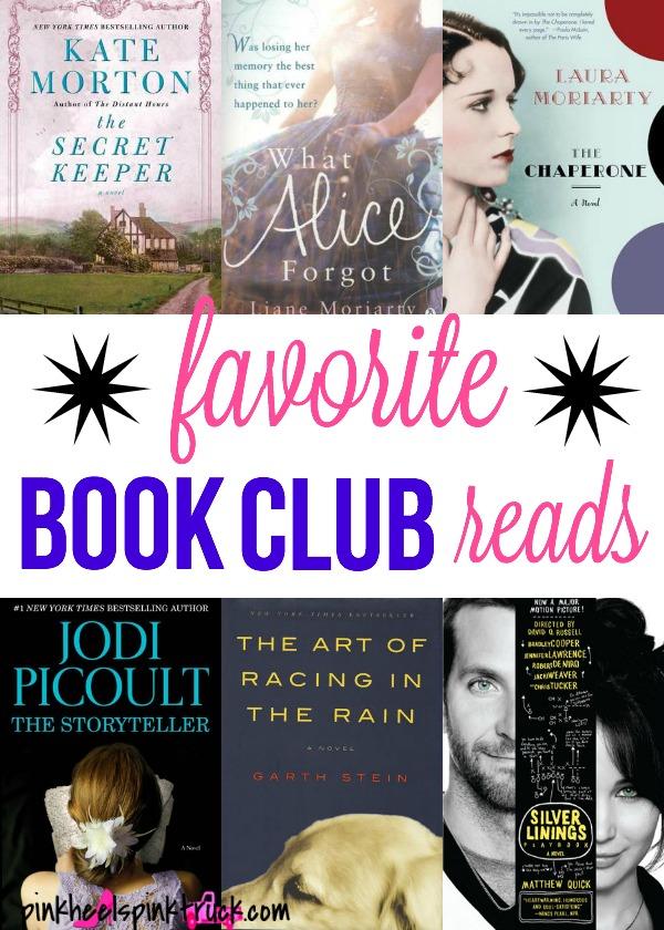 Favorite Book Club Reads