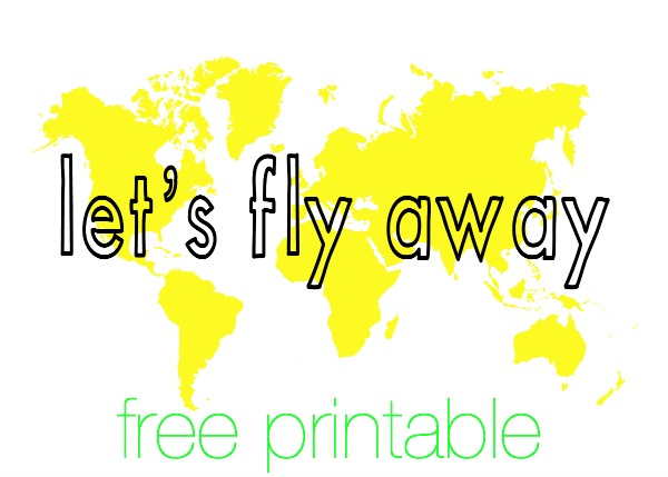 Lets Fly Away YELLOW