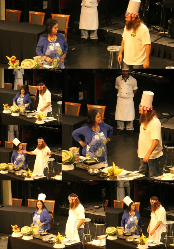 Cooking with Miss Kay on the Duck Commander Cruise #duckdynasty