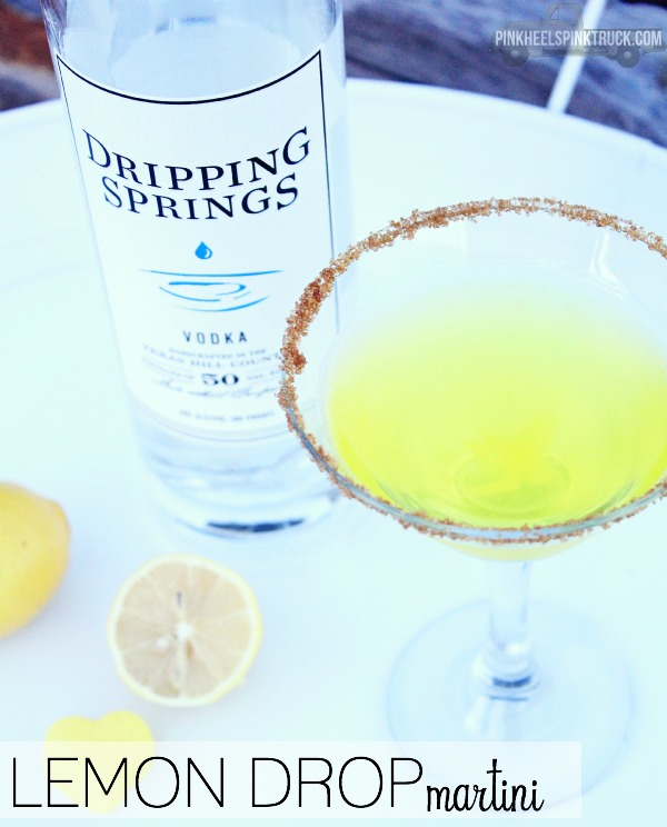 Texas Lemon Drop Martini Recipe