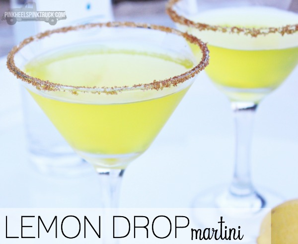 Cocktail: Texas Lemon Drop Martini