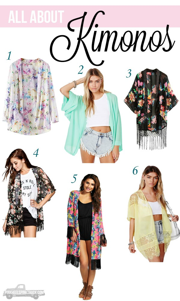 All About Kimonos