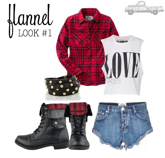 Fall for Flannel Look 1