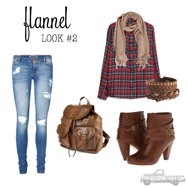Fall for Flannel Look 2