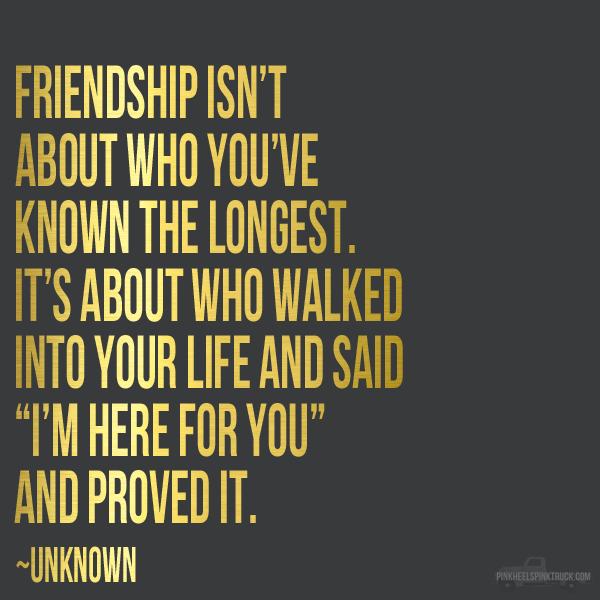 Friendship + FREE Printable