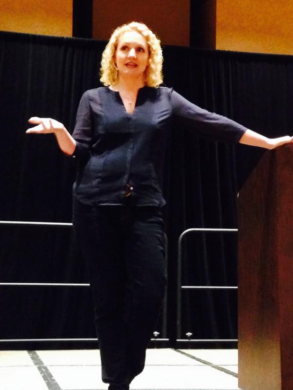 Alli Worthington was our Keynote Speaker this year at #AWBU 2014
