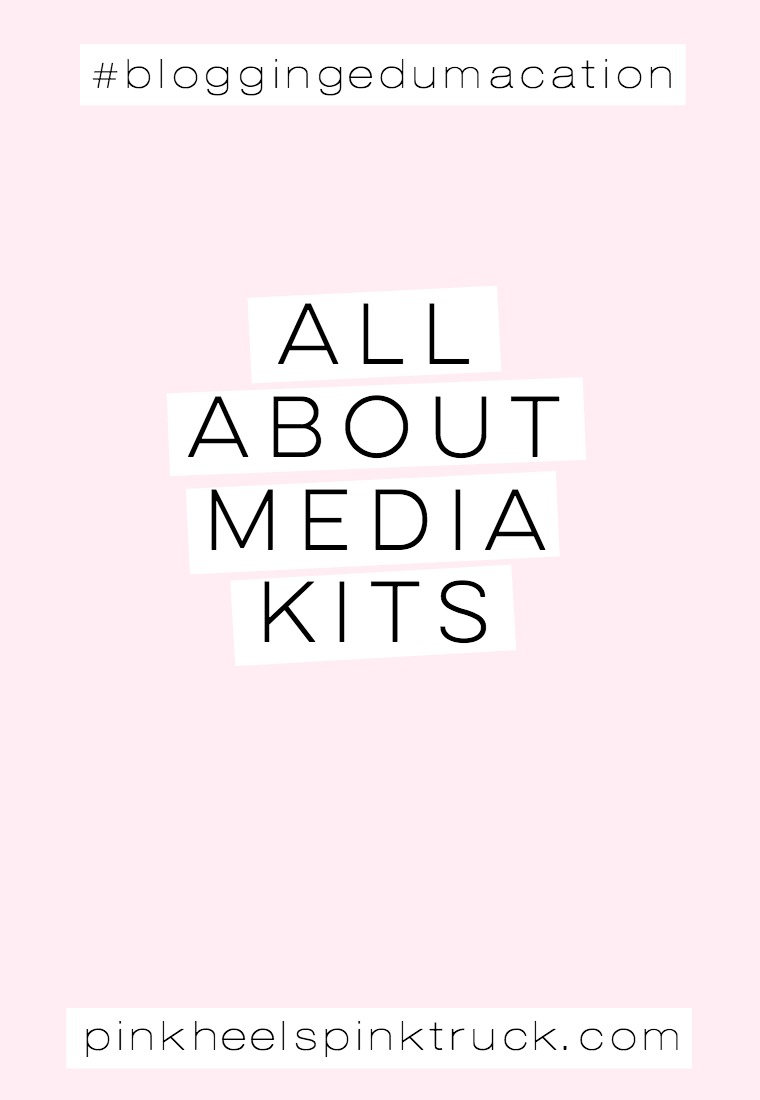 Learn the art form that is the perfect blogging media kit! Learn what needs to be in your media kit!