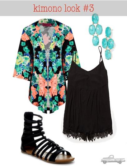 kimono look #3