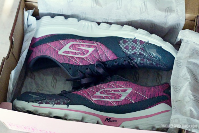 Make Strides to End Breast Cancer by purchasing these Skechers Performance Series Special Edition Breast Cancer Awareness Running Shoes!