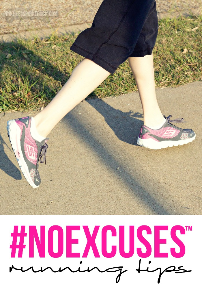 Interested in running for exercise? Check out these running tips to help you get the most benefit when you go out and pound the pavement! #NOEXCUSES