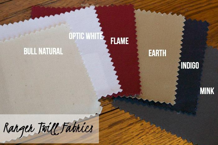Wayfair Custom Upholstery Ranger Twill Fabrics