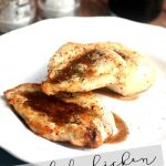 Broiled Chicken with Balsamic Sauce