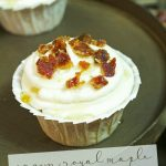 Want a change from the traditional chocolate or vanilla cupcake? Try this amazingly tasty Crown Royal Maple Cupcakes! You will want to eat them all!