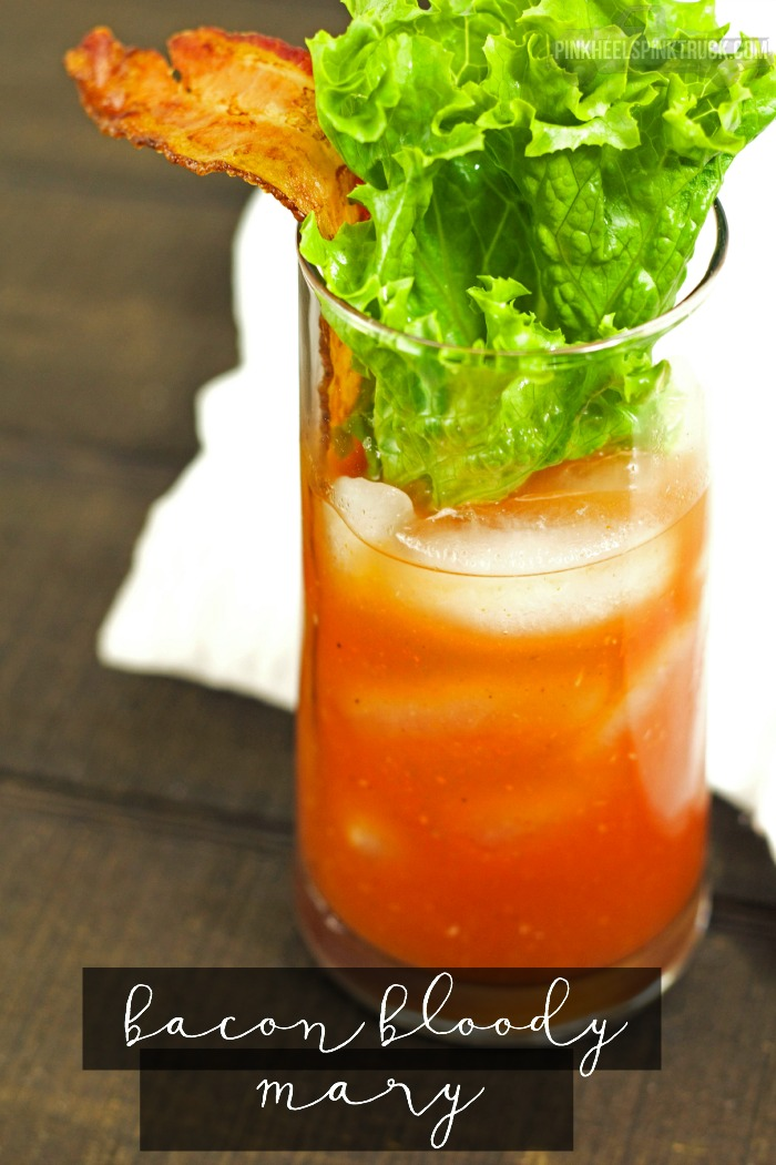 Want a fun new twist to the Bloody Mary? Try out this Bacon version...a play on the B.L.T. if you will. Try out my Bacon Bloody Mary!