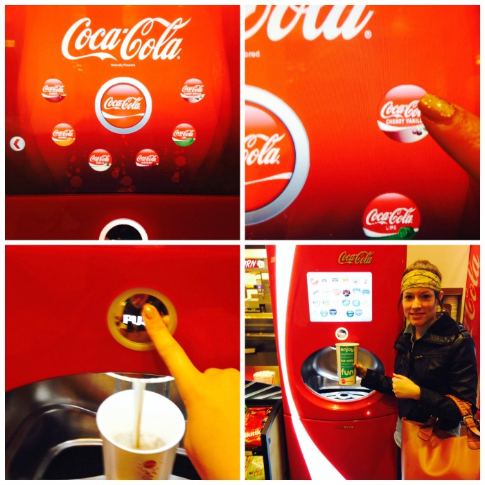 Coca-Cola Freestyle Machine