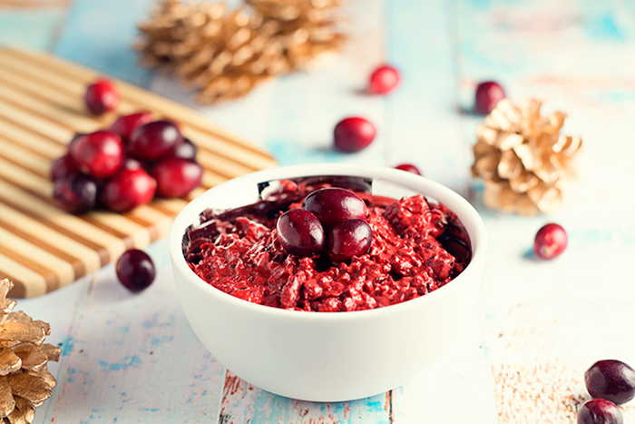 Find the fountain of youth in this cranberry and honey face mask!