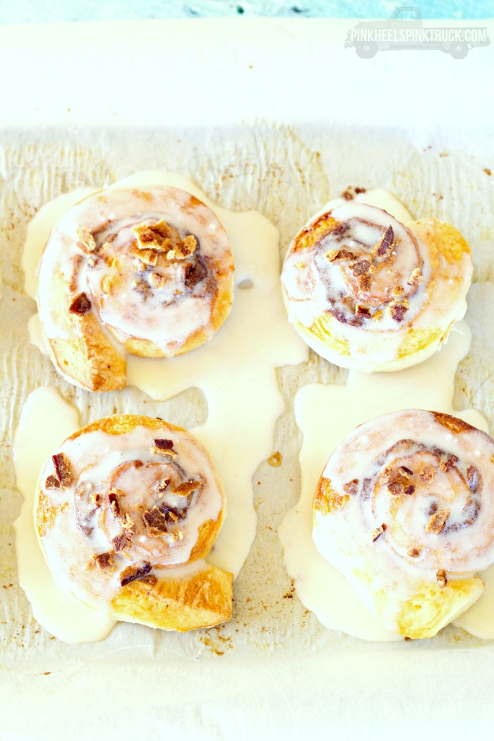 Food: Maple Bacon Cinnamon Rolls
