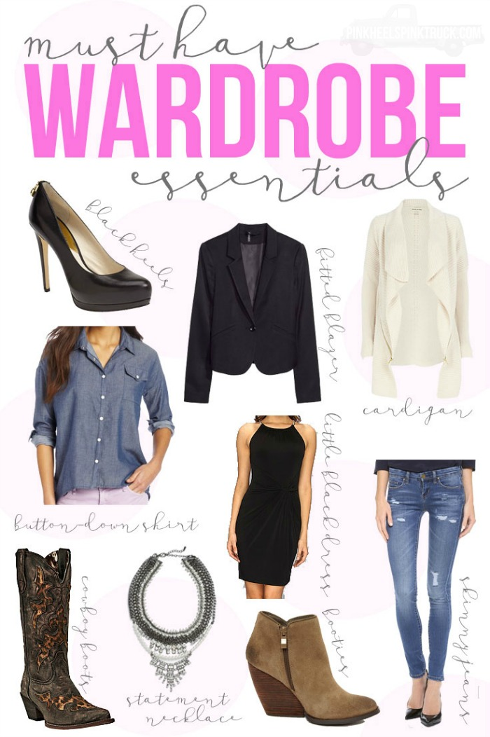 Do you have these Must Have Wardrobe Essentials? TImeless pieces that all women need in their closets!