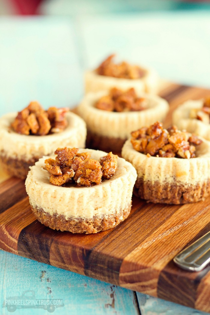 Food Spiced Maple Mini Cheesecakes With Nestle Tollhouse