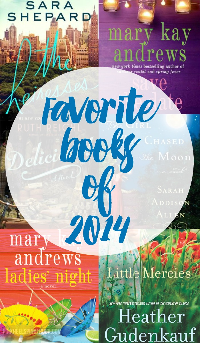 Needing some new books to read? Check out my favorite reads from 2014? You are sure to find a new favorite book from my list!
