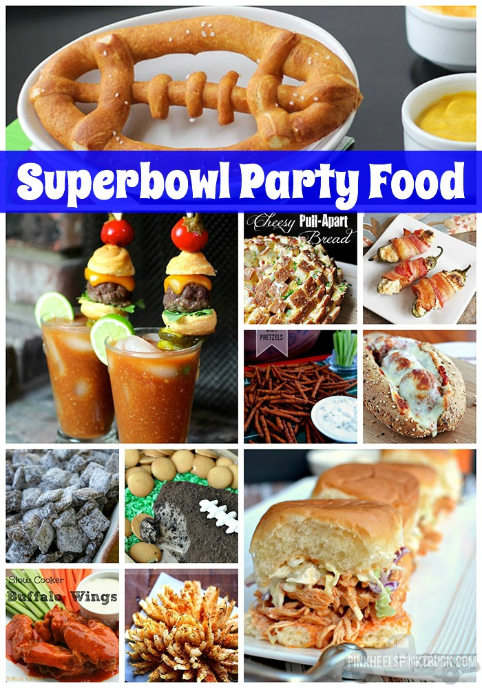 Need some party food ideas for the Super Bowl? I've got you covered! Check out this amazing list of Super Bowl Party Food!