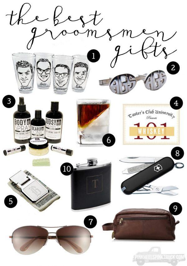 The Best Groomsmen Gifts + The Wedding Ringer