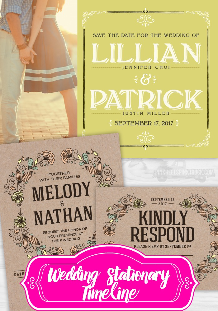 Just engaged? This post is the perfect one for you! Find out when you need to start sending out the relevant Stationary for your upcoming nuptials! From Save the Dates to Invites...learn the best Wedding Stationary Timeline!