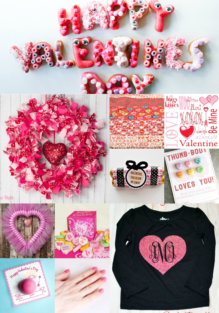 Pink Housewarming Party Valentines Ideas