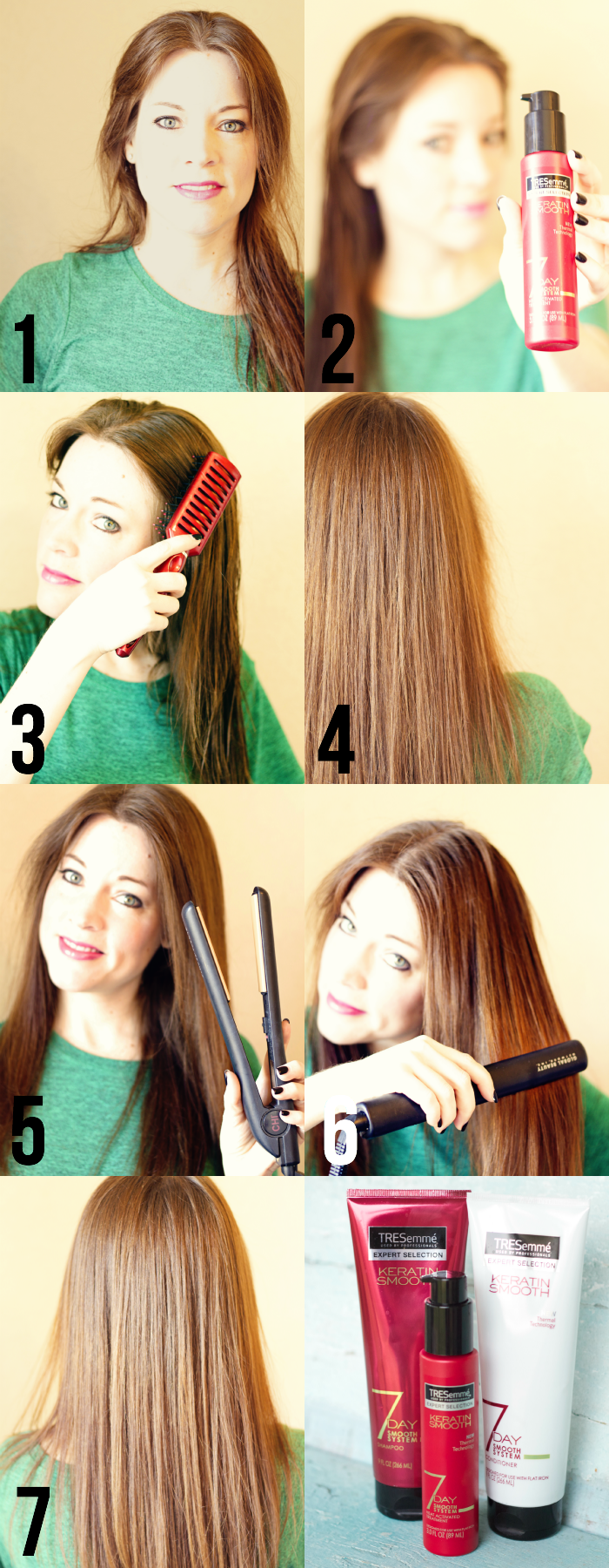 Hair Tutorial: Showing you how to use the Smooth Made Simple Hair Products