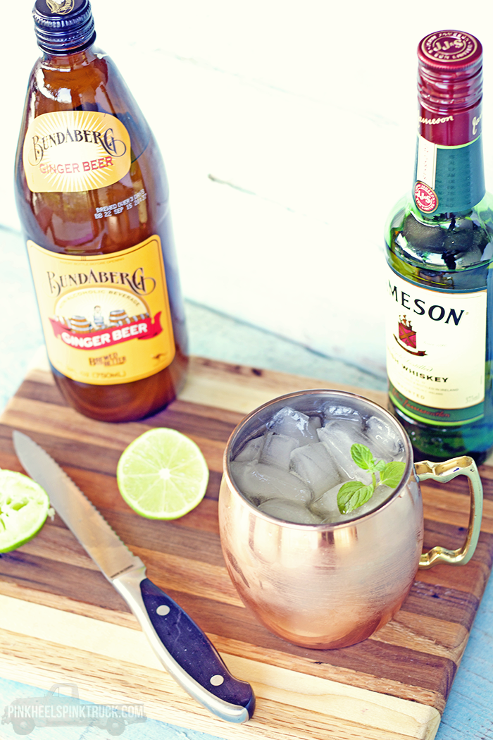Love a good Moscow Mule? Swap out the Vodka for Irish Whiskey and you've got an Irish Mule!