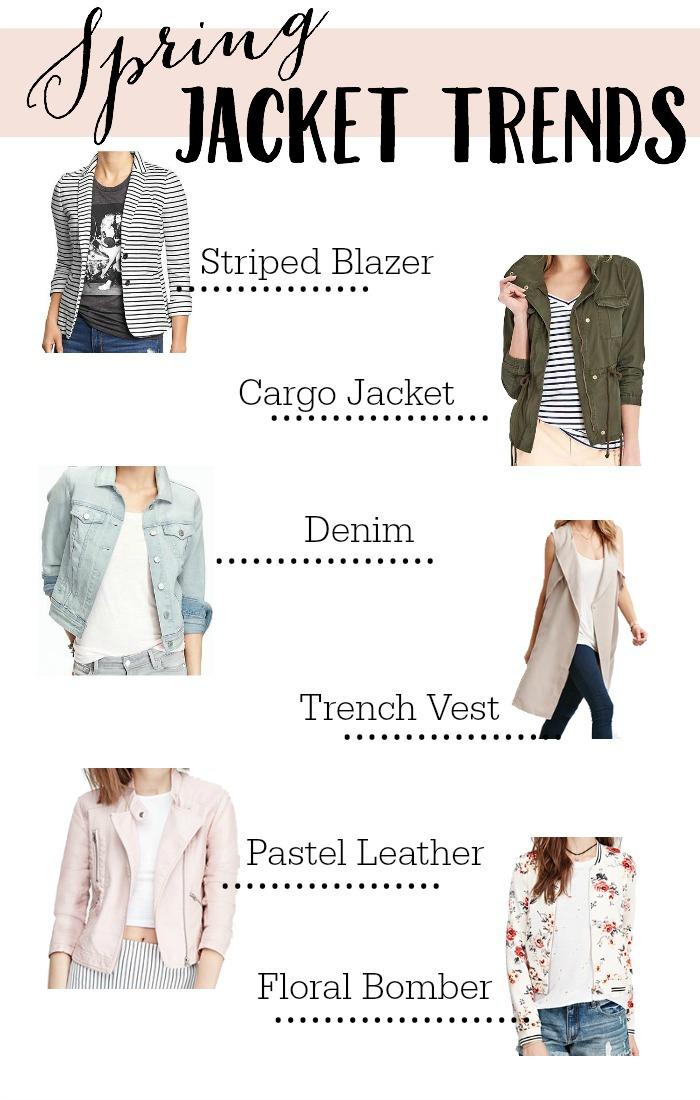 Spring Jacket Trends