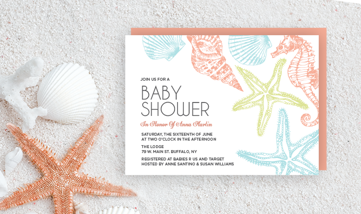 Beach Themed Baby Shower Seaside Baby Shower Printables Taylor