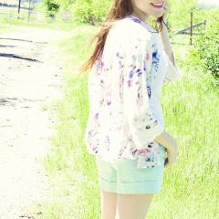 Kimono and Shorts 3