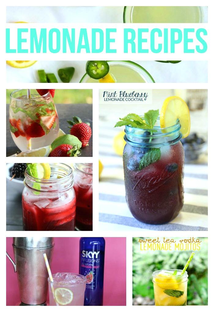lemonade recipe roundup