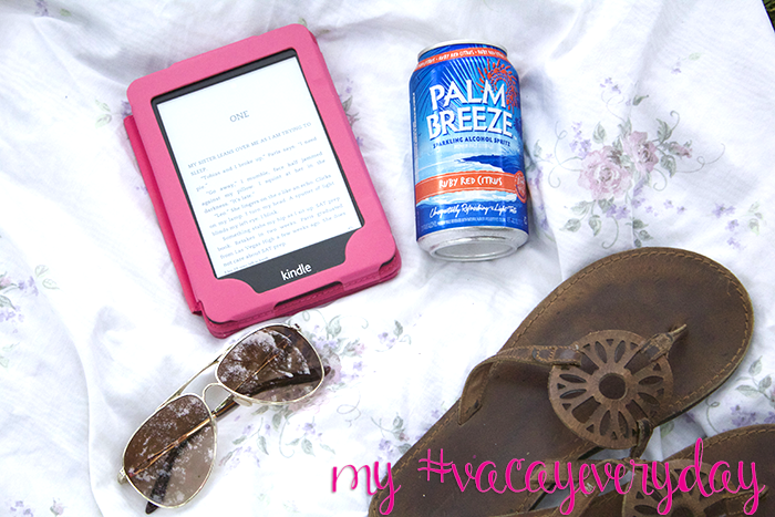 I'm choosing to set aside one #vacayeveryday once a month. Will you join me?? @drinkpalmbreeze #DrinkResponsibly #ad