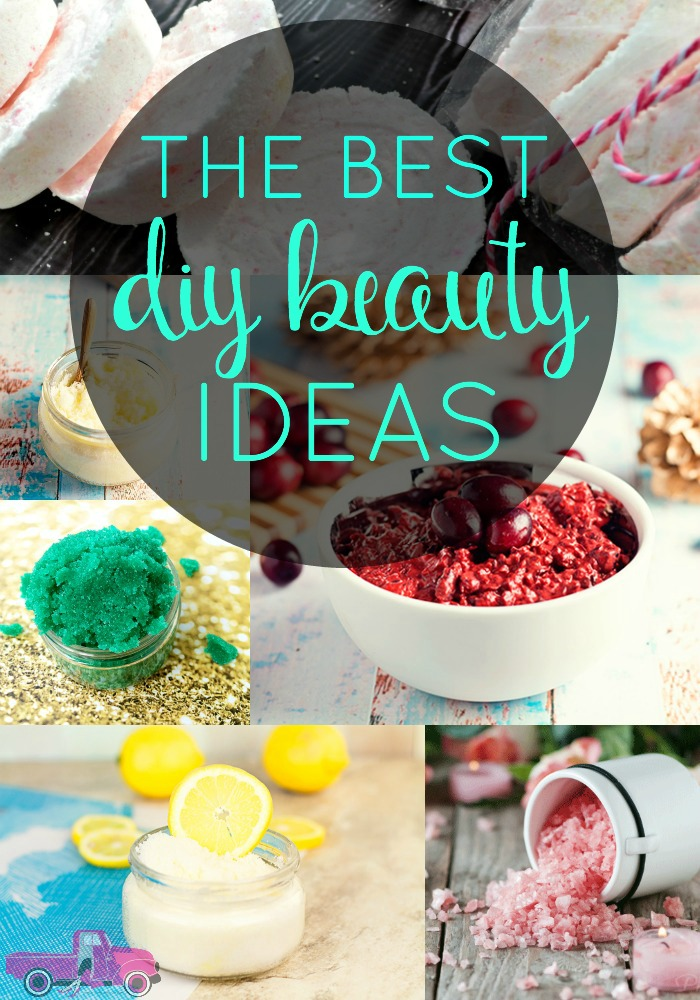If you are a fan of DIY Beauty Recipes, then you'll love this list of DIY Beauty Ideas! I've got DIY Scrubs, Salts, Bath Bombs and more! Check out these DIY Beauty Hacks!