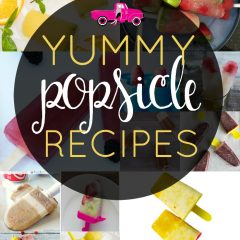 Popsicles are a perfect summertime treat! From all fruit, yogurt & fruit and adult varieties, I've got a popsicle recipe for everyone!