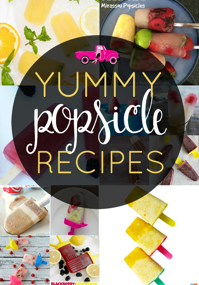 Popsicles are a perfect summertime treat! From all fruit, yogurt & fruit adult varieties and more, I've got popsicle recipes for everyone!