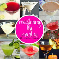 Looking to marvel your party guests? Then it's time for you to master the martini!! And you are sure to do that with these yummy Martini Recipes!!