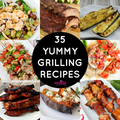 Looking to for something to grill? Check out these 35 Tasty Grilling Recipes featuring healthy and paleo options!