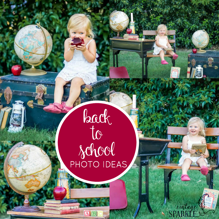 Looking for some inspiration for Back to School photos? Check out these Back to School Photos Ideas!
