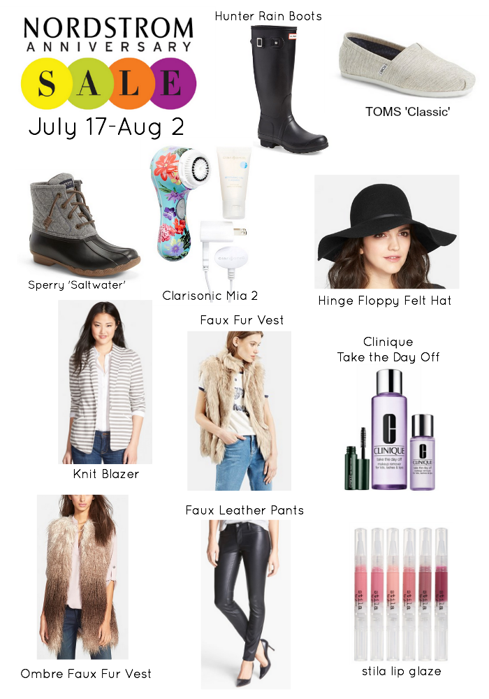 It's that time of the year again! The Nordstrom Anniversary Sale 2015!! Get to shopping! Sale ends August 2, 2015 #NSale
