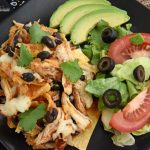 Looking for a healthy dish that is packed full of flavor? Check out Cathi's (Cherry Blossom Kitchen) Chilaquiles with Chicken and Black Beans. So good!