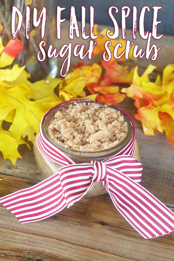 Looking for an easy DIY Sugar Scrub recipe? You probably already have these ingredients in your pantry! Check out my DIY Fall Spice Sugar Scrub! Makes a great gift too!