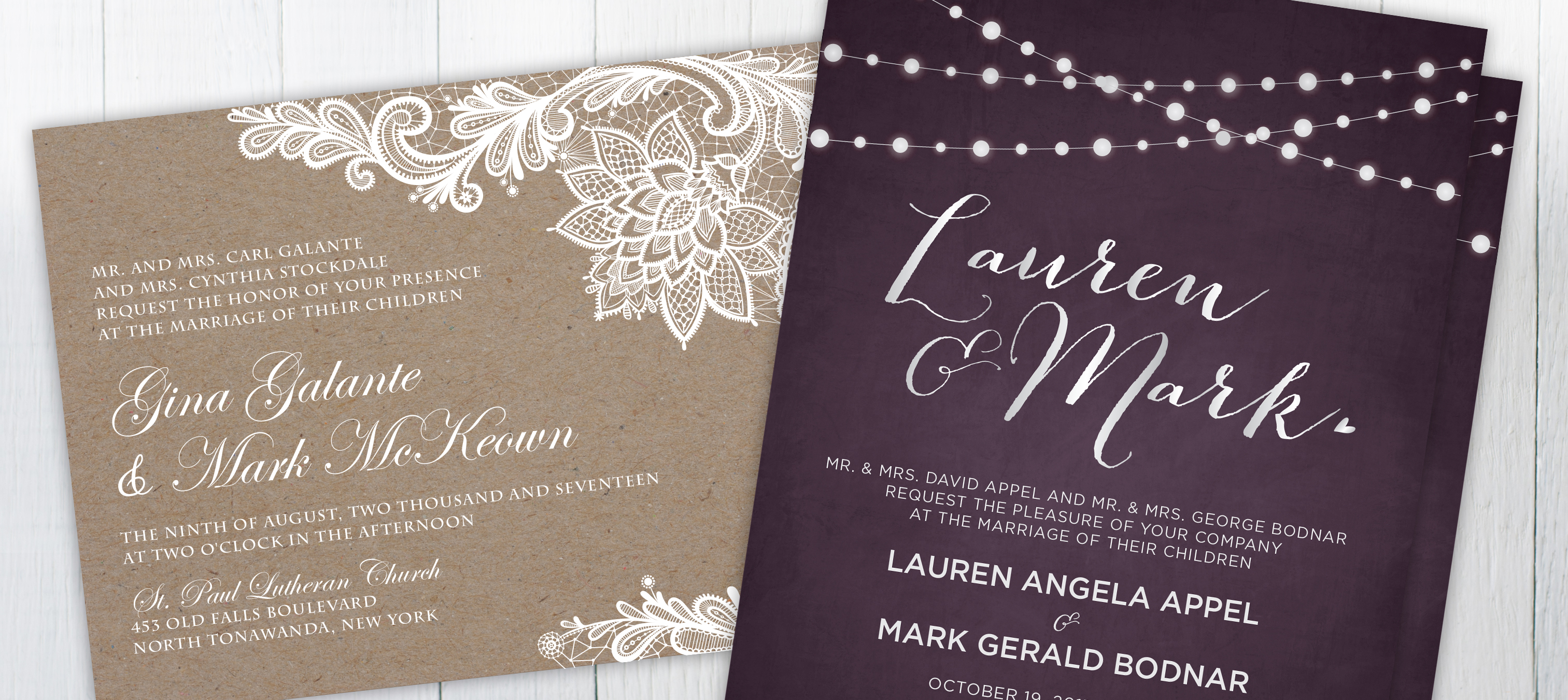 Wedding Invitation Wording • Taylor Bradford