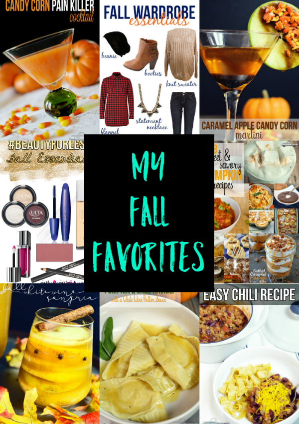 My Fall Favorites