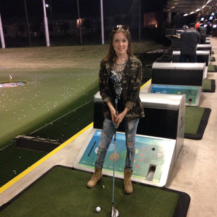 I joined the #FirstTimersClub at @topgolfdallas!! And had a blast!!