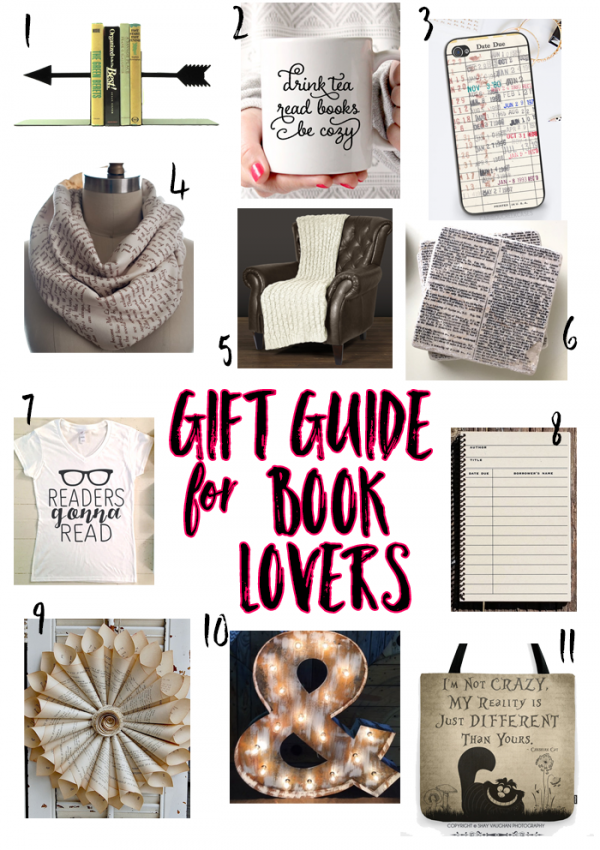 Holiday Gift Guide – For the Book Lover