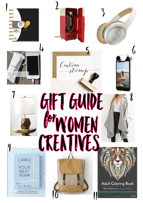 Gift Guide for Women Creatives